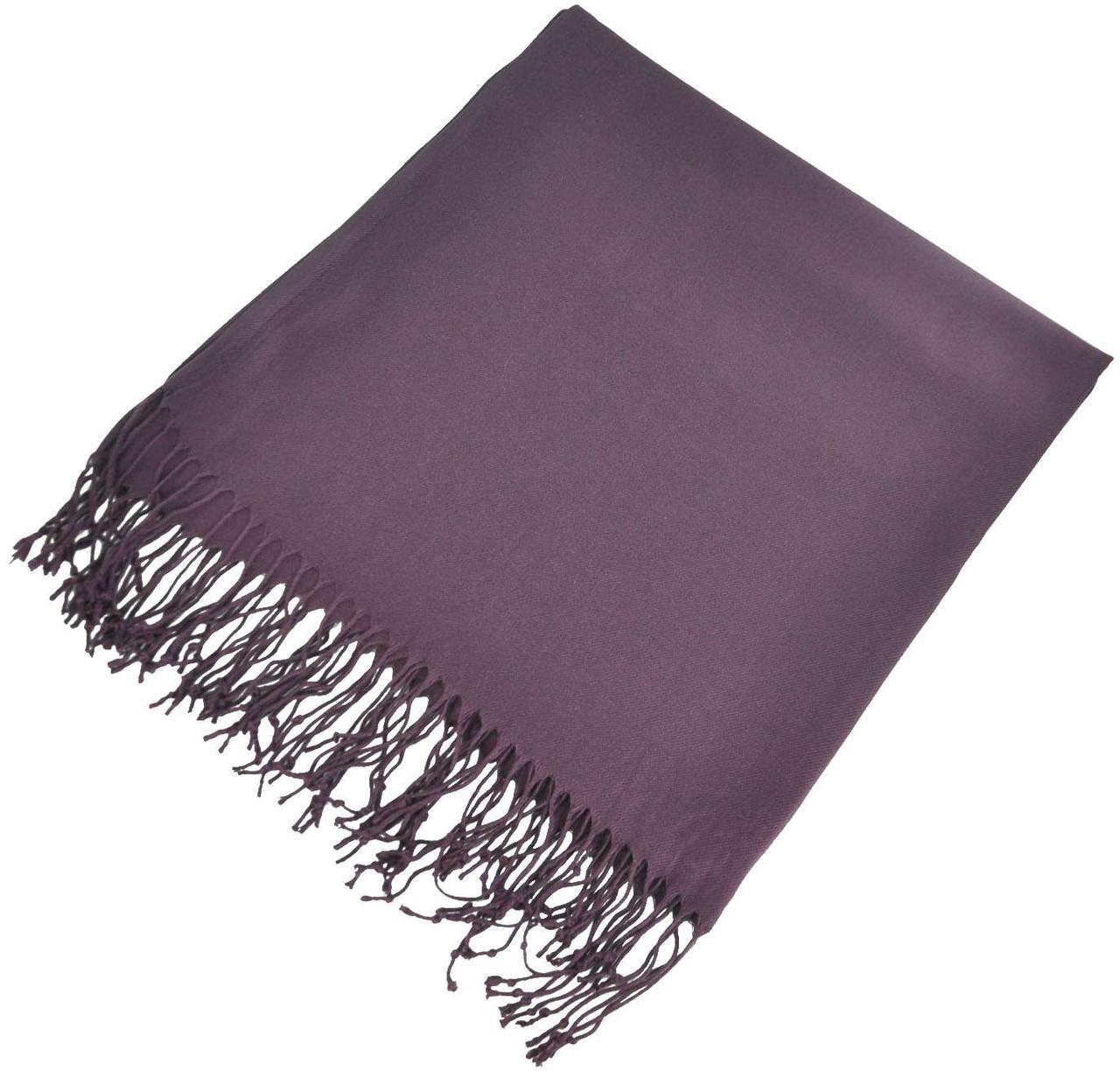 Палантин 12013 фиолетовый