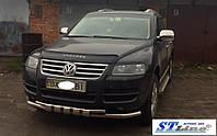 Volkswagen Touareg 2002-2010 гг. Кенгурятник ST015 (нерж)