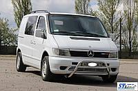 Mercedes Vito W638 1996-2003 гг. Кенгурятник WT022 (нерж.)