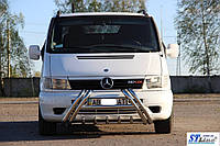 Mercedes Vito W638 1996-2003 гг. Кенгурятник WT01 (нерж.)