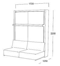 "Мебель-трансформер Clei, модуль SWING ""O"""