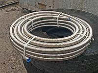 Труба гофрированная из нержавейки диаметром 32 мм, отожженная, фото 1