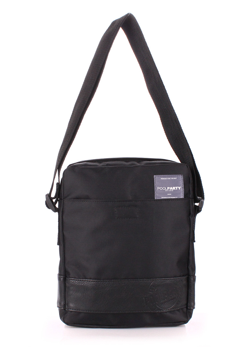 d13fc2db5962 Мужская сумка на плечо Poolparty Pool 94 oxford black - Podushka.ua -  интернет-
