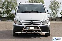 Mercedes Viano Кенгурятник с усами WT004-ST