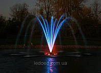 Комплект подсветки фонтана  на 3 светильника