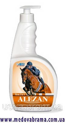 Алезан (Alezan) гель для лошадей, охлаждающе-разогревающий продаю