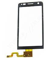 Сенсорная панель для NOKIA C6-01 черная Н/С