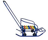 Санки детские с колесами Тянитолкай