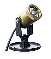Бронзовый подводный светильник для водоема