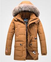 Мужской зимний пуховик. Мужская курточка теплая Модель 965