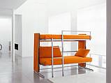 Мебель-трансформер Clei, cофа-2 ярусная кровать DOC, фото 3