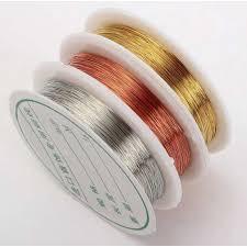 """Проволока бижутерная цвет """"золото"""",диаметр 0.3"""