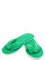 Тапочки махровые вьетнамки (обшиты тесьмой), разные цвета, 35-38р.