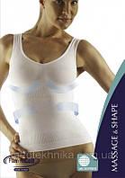 Майка на узких бретелях  c усиленной утяжкой в области пояса FarmaCell (Vest SHAPE)