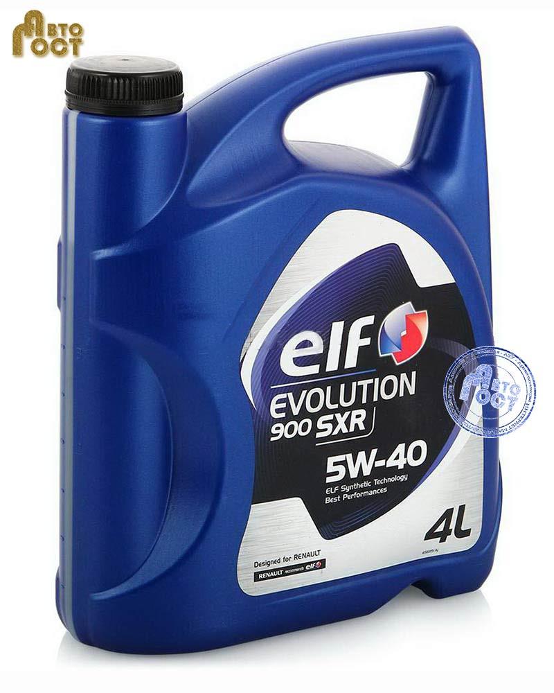 Масло ELF Evolution 900 SXR 5W-40 4л.
