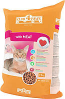 Club 4 Paws Сухой корм для котов Мясо 11кг