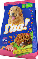 Гав Сухой корм для собак Мясное ассорти 500г