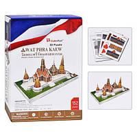 Пазл 3D Храм изумрудного Будды Wat Phra Kaew 152 детали