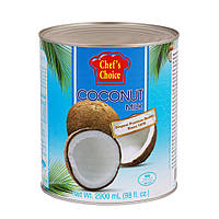 Кокосовое молоко (18%) 2900 мл , TM CHEF'S CHOICE