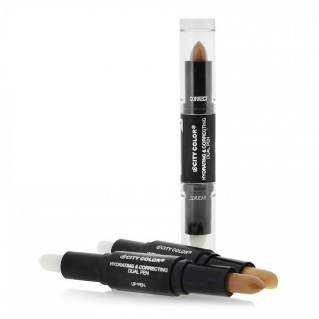 Увлажнение + праймер-корректор City Color Hydrating & Correcting Lip Pen