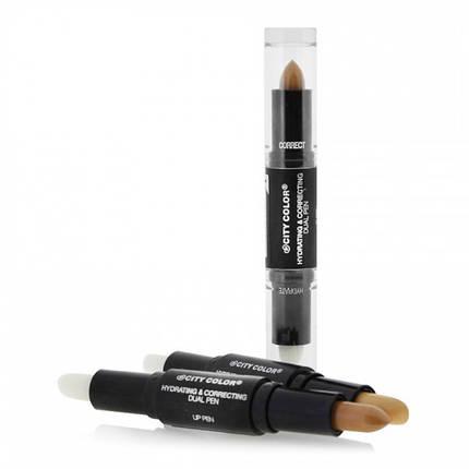 Увлажнение + праймер-корректор City Color Hydrating & Correcting Lip Pen, фото 2