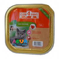 Клуб 4 лапы Паштет для котов Курица 100г