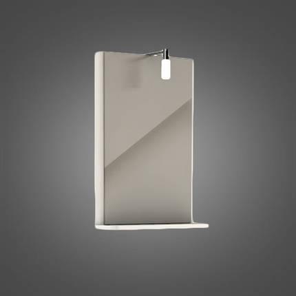 Зеркало с подсветкой 44,3*60,5*12,5 см (пол.) KOLO REKORD (88418-000), фото 2