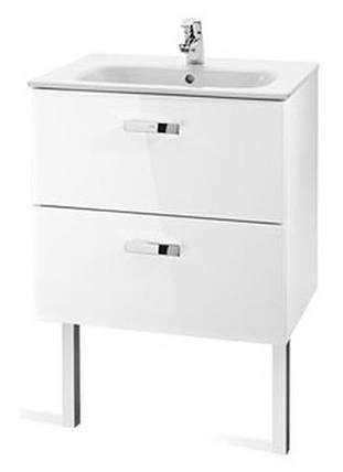 Шкафчик с умывальником 60 см,белый ROCA VICTORIA (855854806), фото 2