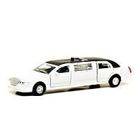 Автомодель Технопарк Лимузин белый (свет, звук)