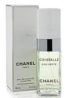 Туалетная вода для женщин Chanel Cristalle eau verte (Шанель Кристал оу Верте) - цветочно-зеленый аромат AAT