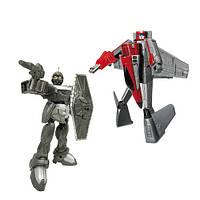 Робот-трансформер X-Bot (15см) Самолет и Воин