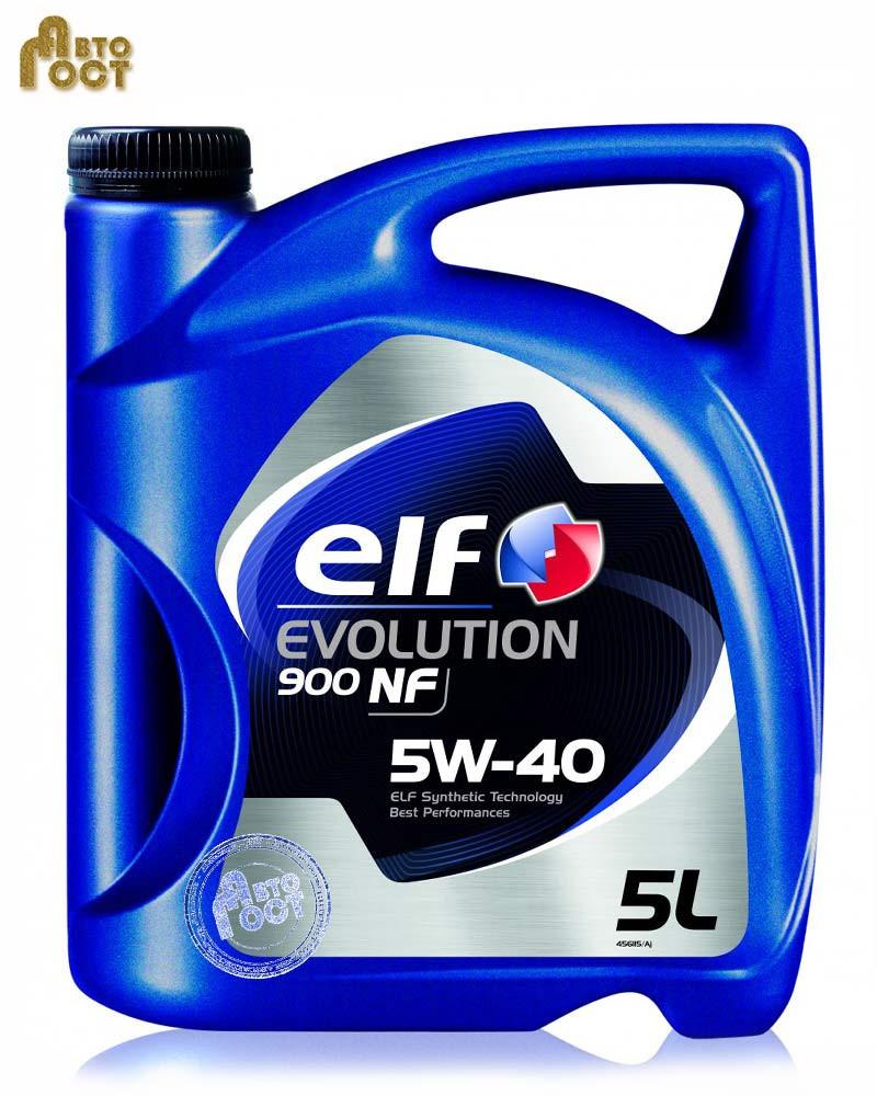 Масло ELF Evolution 900 NF 5W40 5л.