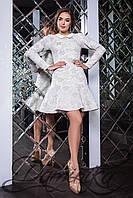 Романтичное платье из неопрена Irish
