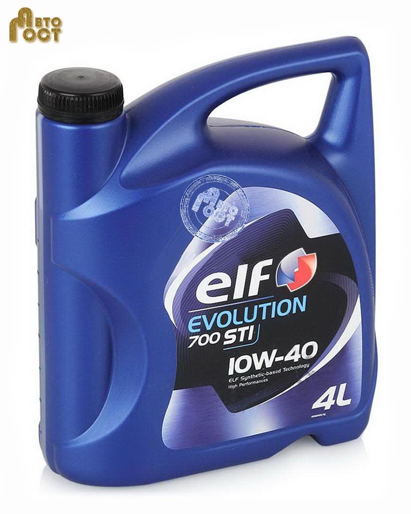 Масло ELF Evolution 700 'STI 10W-40 4л.