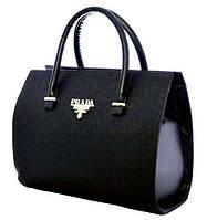 Стильная женская сумка Prada (Прада). Каркасная сумка. Высокое качество. Практичная сумка. Код: КДН1019