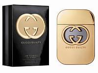 Женская парфюмированная вода Gucci Guilty Intense с цветочно-восточный ароматом с нотками пачули и сирени AAT