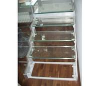 Стеклянные ступени для лестницы по индивидуальному заказу, фото 1