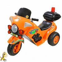 Мотоцикл детский 372О Orion аккумуляторный, оранжевый