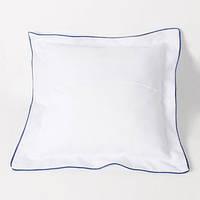 Подушка квадратная атласная с цветной каймой