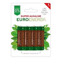 БатарейкаEuroenergy SuperAlkalineAALR6 4штвблистере