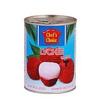 Личи в сиропе 565 гр, TM CHEF'S CHOICE