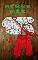 Набор для новорожденного на выписку Merry Bee 12150 р.56 красный