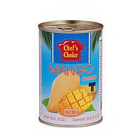 Манго тайский желтый в сиропе (дольки) 420 гр, TM CHEF'S CHOICE