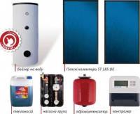 Геліосистеми (радіатори, батареї) для нагріву води та опалення, сонячні панелі