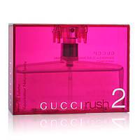 Женская туалетная вода Gucci Rush 2 - цветочный древесно-мускусный аромат с нотками черной смородины AAT