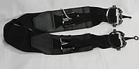 Корсет, ремень, пояс женский с резинкой черный ДхШ: 78х6 см.