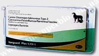 Вангард Плюс 5/CV-L - вакцина для собак, 1 фл. (1 доза) + растворитель 1 фл.