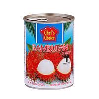 Рамбутан в сиропе 565 гр, TM CHEF'S CHOICE
