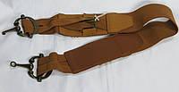 Корсет, ремень, пояс женский с резинкой коричневый ДхШ: 78х6 см.