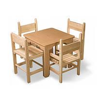Набор столик и стульчики бук